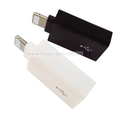 USB2.0 OTG Adapter для iPhone 5/5S/5C/6/7/iPad