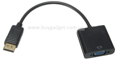 Адаптер DisplayPort M to VGA F