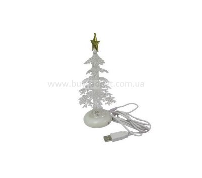 USB Елка, Crystal Christmas, 7 Color