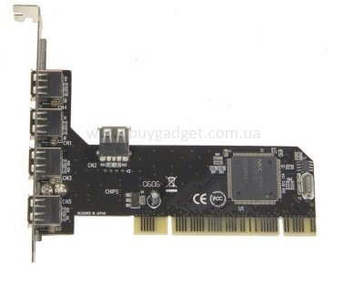 Адаптер PCI to USB2.0 NEC, RTL