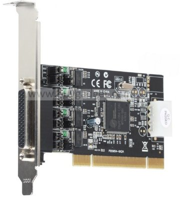 Адаптер PCI to 4xCOM (RS232), ST-Lab CP-110, RTL