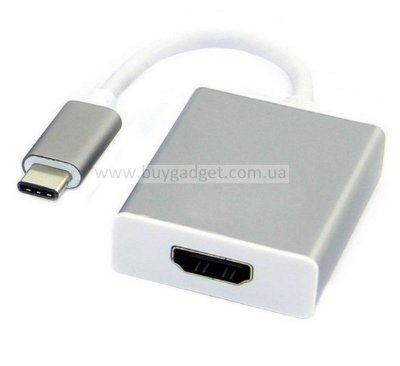 Адаптер USB3.1 Type-C to HDMI, RTL